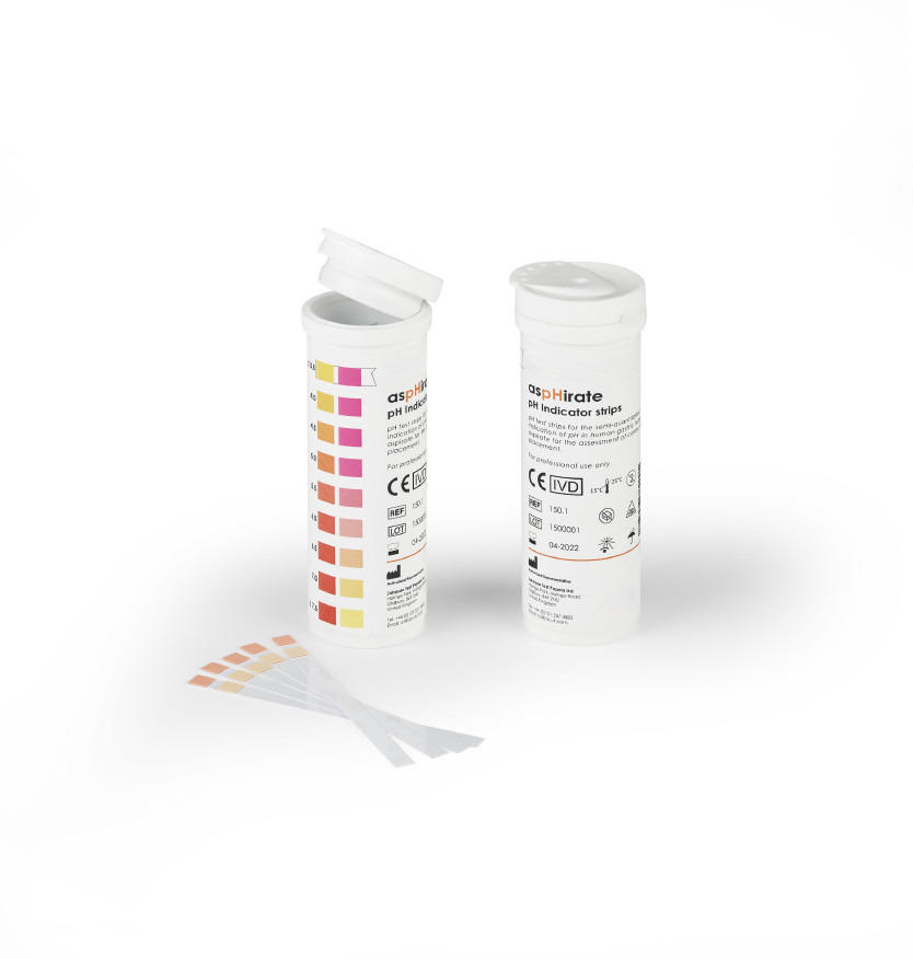 aspHirate pH Indicator Strips